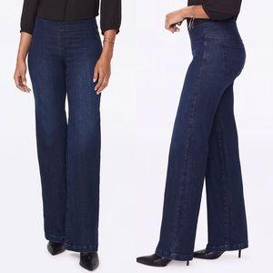 NYDJ | Wide Leg Pull-On Jeans NWT 12
